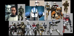 Clone troopers phase 2 armor by NihiliusRevan