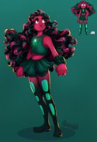 My Gemsona: Alexandrite by WhatItMeansToBeHuman