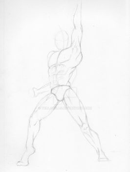 019 Man Stance 14th Feb 2016 by Tealabells