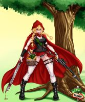 Commi - 0356 - Little Red Riding Hood by 7th--Heaven