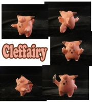 Clefairy Sculpture: Collage