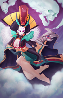 Enma - Onmyoji Fan Art Contest by puffypinkpaws