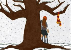 Ron and Hermione by Tintinnabulate