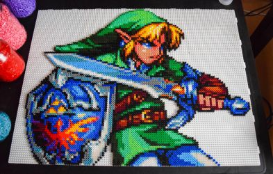 Link [WIP 2] by Aenea-Jones
