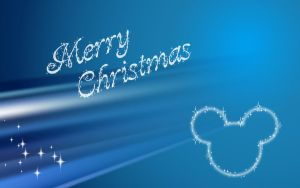 Disney Christmas Wallpaper by lille-cp
