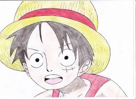 Luffy One piece by OP-Girl16