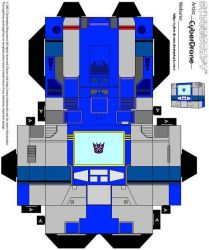 Cubee - Soundwave 1 by CyberDrone