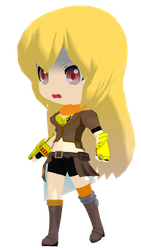 MMD Rummy RWBY Yang Xiao Long DL by 2234083174