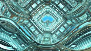 Daily Fractal Wallpaper no25 - Ocean Engine by Dr-Pen