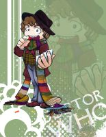 Doctor Who - Tom Baker by Marker-Mistress