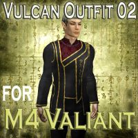 Vulcan Outfit for M4 Valiant02 by mylochka