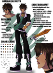 Adrian Reference Sheet by Cazuuki