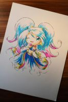 Chibi Arcade Sona by Lighane