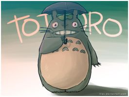 Totoro by lires