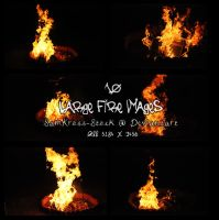 10 Fire Images by SamKross-Stock