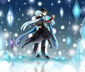Shall we dance across the crystals and ice,Mikleo? by ShiranaiTenshi