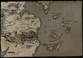 Map of Sheol by Dyslexick