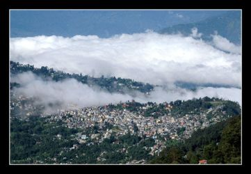 Home town Kalimpong by chinlop