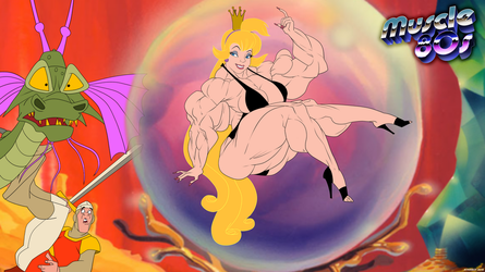 Muscle 80s - Dragon's Lair. by Atariboy2600