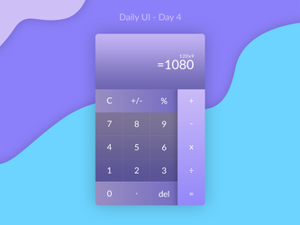 Daily UI Challenge - Day 3 by FanBarcelony