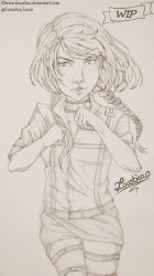 AoT/SnK - Velina Tanzmann Traditional [WIP] by Loustica