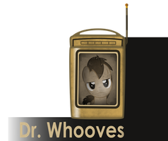 my little bioshock - Doctor Whooves message icon by MetaDragonArt
