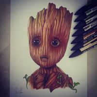 baby groot by ran360