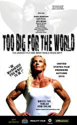 Muscle Movie Poster - Too Big For The World 1 by theAdmirerofYou