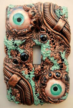Copper Feel switch plate by dogzillalives