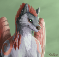 Feathery goodness by Virensere
