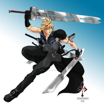 Cloud Strife by WadeVezecha