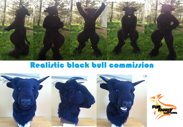 Black Bull Commission by wolvescanlove