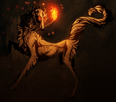 Keeper of the Sacred Light by InstantCoyote
