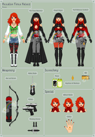 AC - Annalise Reference Sheet by theRainbowOverlord
