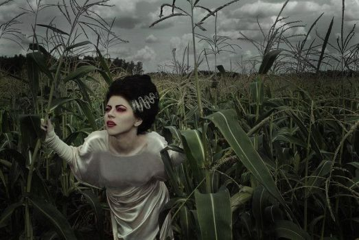 Bride Of Frankenstein by DominiqueWesson