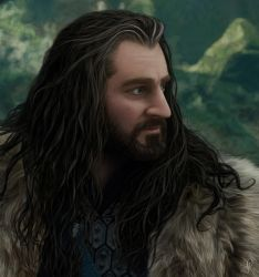 Thorin Oakenshield - Imminent Attack (detail) by DarqueJackal