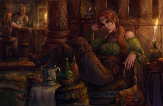 tavern by AnnaHelme