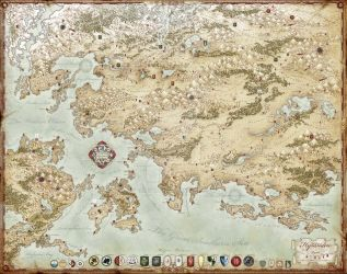 The Grand Map of Hyranden by TheRedEpic