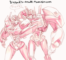 Two primes by HIIVolt-07