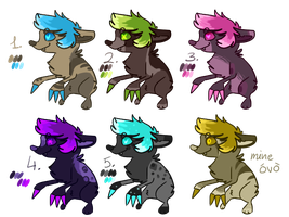 draeko adopts! CLOSED by TlKl