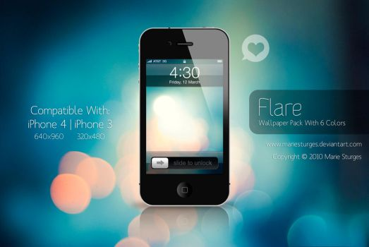 Flare for iPhone by mariesturges