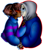 Skele Kisses .:CB:. by Atomic52