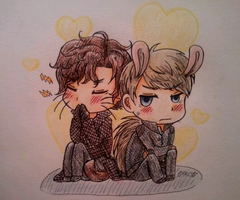 Sherlock Traditional Doodles by BlankInSpace