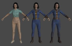 'Fallout 4' Nora XPS ONLY!!! by lezisell