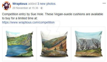 My Wraptious Cushion Design Competition Entry by SuzanneHole