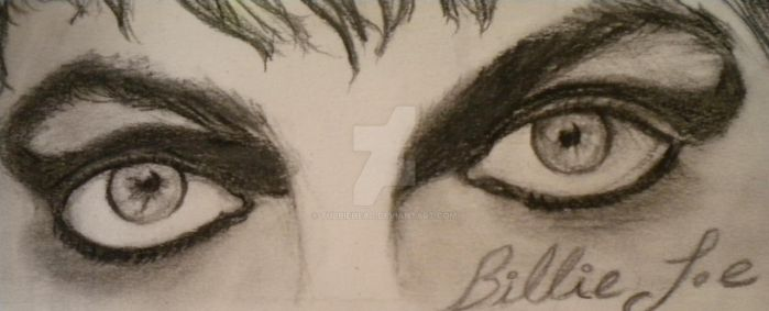 Billie's eyes, Black and White by TubbieHead