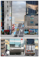 Royalty Free City 3 download for Comi-po by Kyotita