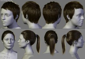 2012 Hairstyles 01 by Woodys3d