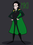Loki Laufeyson by WaterElement33