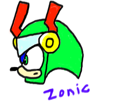 Zonic The Zone Cop by Luyiji